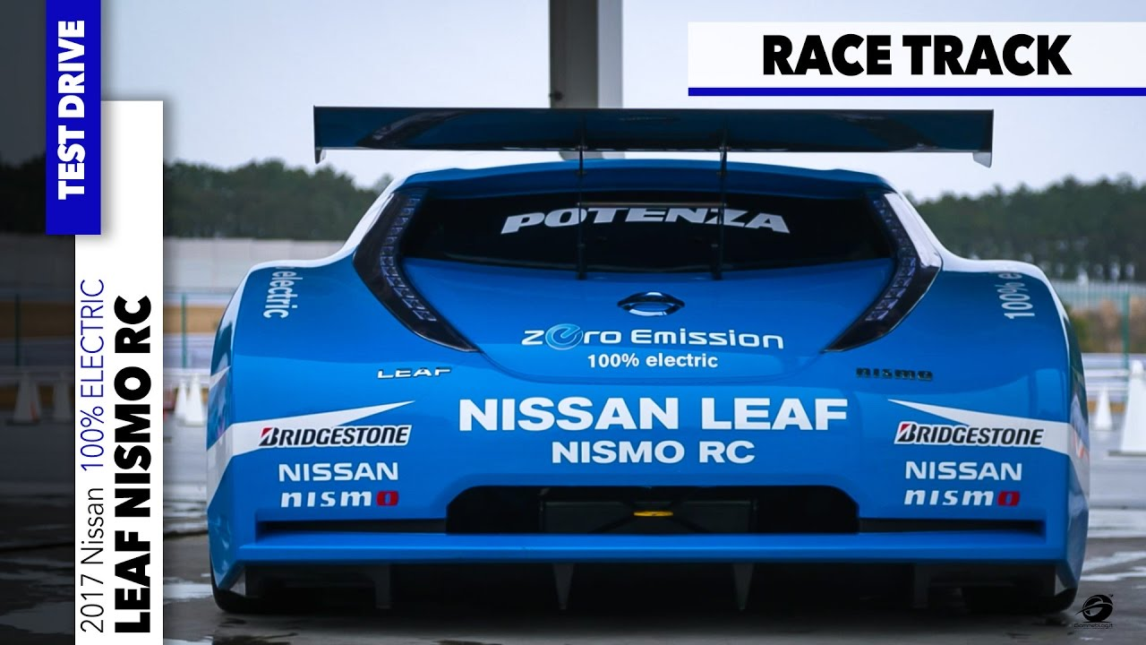Nissan Leaf Nismo Rc 100 Electric Fast Race Car Awesome Drive On