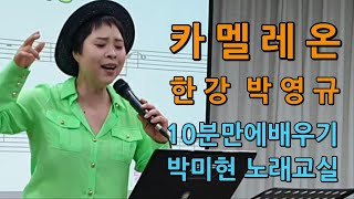 카멜레온 – 한강 미스터트롯 / 10분만에 한곡 배우기…