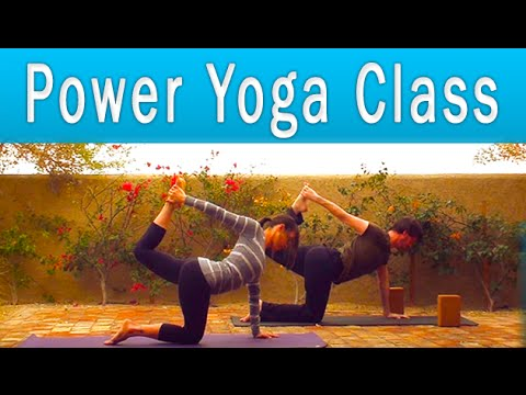 Power Yoga for Weight Loss Workout (1 hour) ✪