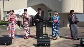 2016.7.10 ゆかた祭り 広島大学アカペラサークルPDEのストリートライブ ...