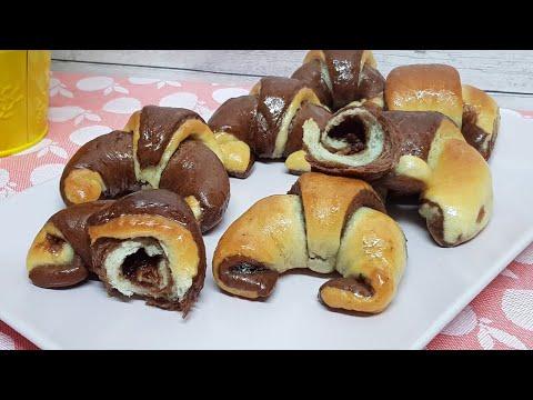 Cuernitos Dos Colores ¡Croissants Muy Ricos y Tiernos! #053