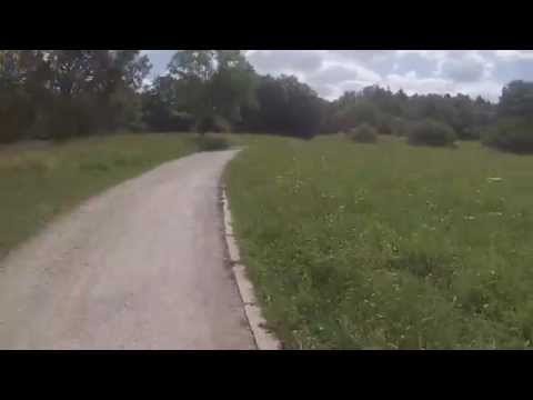 Allmandring - University Stuttgart - 30 Minutes of Running - Real Time GoPro