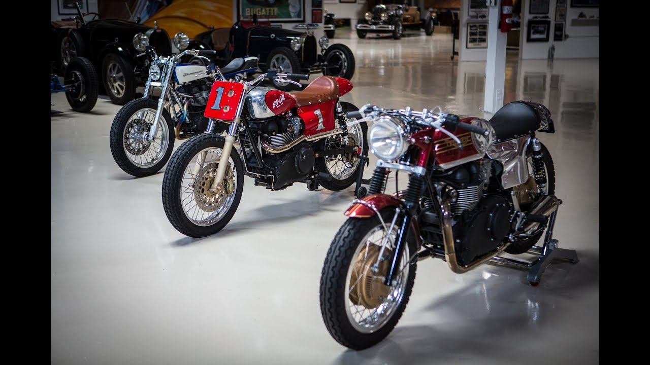 Champions Moto Bespoke Cafe Racers - Jay Leno's Garage - YouTube
