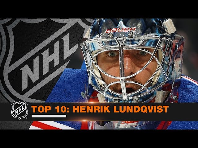 Top 10 Henrik Lundqvist saves from 2017-18