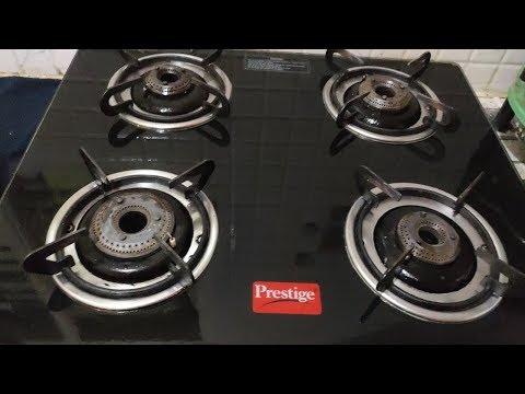 ఈజీ గా గ్యాస్  స్టవ్ క్లీనింగ్ ఎలా  || how to clean dirty  gas stove in 10min