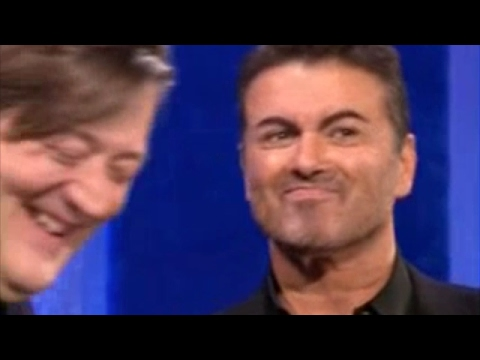 George Michael and Stephen Fry, Interview on Parkinson (2007) Rare Video
