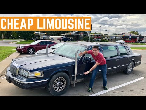 I BOUGHT The CHEAPEST Limousine In The USA