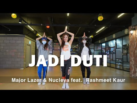 [ZUMBA]  JADI BUTI  /  Major Lazer U0026 Nucleya  /  Feat.  Rashmeet Kaur  / CINDY