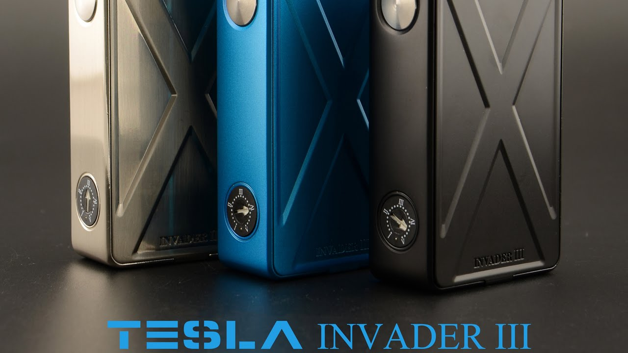 Tesla Invader 3 III Box Mod - Review - YouTube