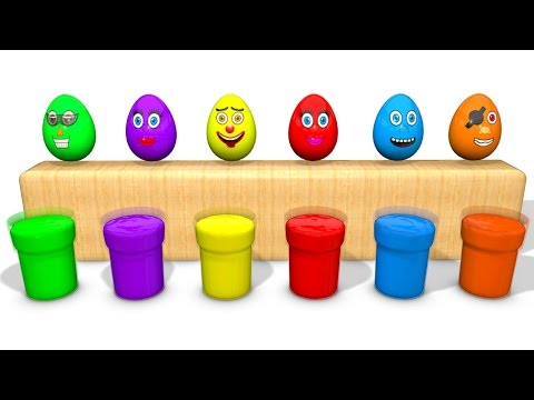 Thumbnail: Learn Colors for Children with Superheroes Surprise Eggs - Cars Learning Video for Kids