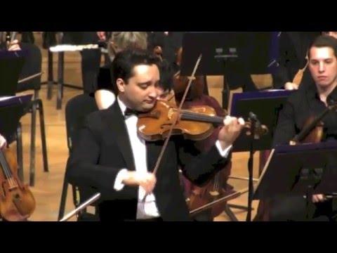 Artur Kaganovskiy| Violinist | Bruch Violin Concerto Highlights
