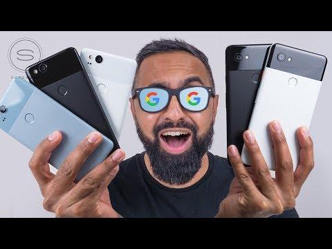 Download Youtube: Google Pixel 2 vs Pixel 2 XL UNBOXING