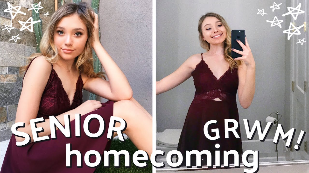 Grwm Senior Homecoming 2019 Hair Makeup Outfit Etc Youtube Now on dvd & digital. grwm senior homecoming 2019 hair makeup outfit etc