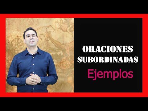 Oraciones Subordinadas: sustantitvas, adjetivas y adverbialesиз YouTube · Длительность: 6 мин55 с