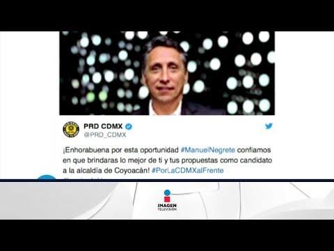 Manuel Negrete irá por la alcaldía de Coyoacán | Qué Importa