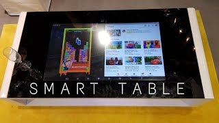This is an Android Table ! Yes a Smart Table