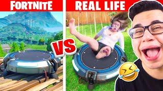 FORTNITE vs. REALLIFE CHALLENGE!