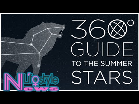 How To Find The Summer Constellations (360° Video)