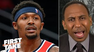 Stephen A. is incredibly sad for Bradley Beal: The Wizards are going to stink! | First Take Video