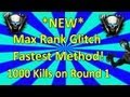 NEW Instant Max Rank Glitch FASTEST METHOD Black Ops 2 Zombies