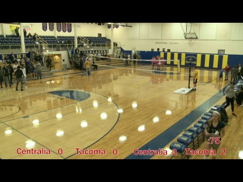 Centralia College Women's Volleyball  10-5-2018
