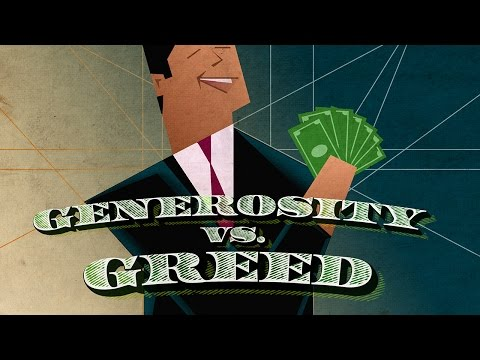Jesus Uncut: Generosity vs. Greed