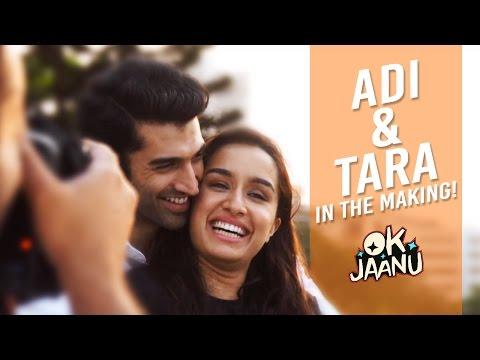 Adi & Tara In The Making - OK Jaanu | Aditya Roy Kapur | Shraddha Kapoor
