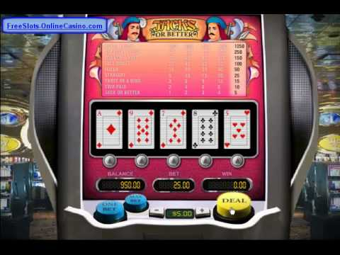 Jacks Or Better™ Slot Machine Game to Play Free in NetEnts Online Casinos