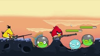 Angry Birds Ultimate Battle - TEAM CHUCK AND RED RESCUING STELLA FROM PIGGIES!