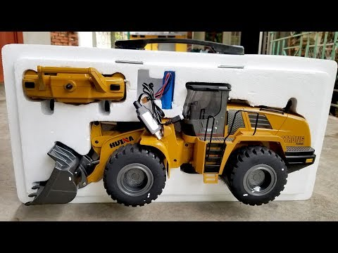 NEW! Huina 583 Wheel Loader | Unboxing Toys | Cargadora De Ruedas