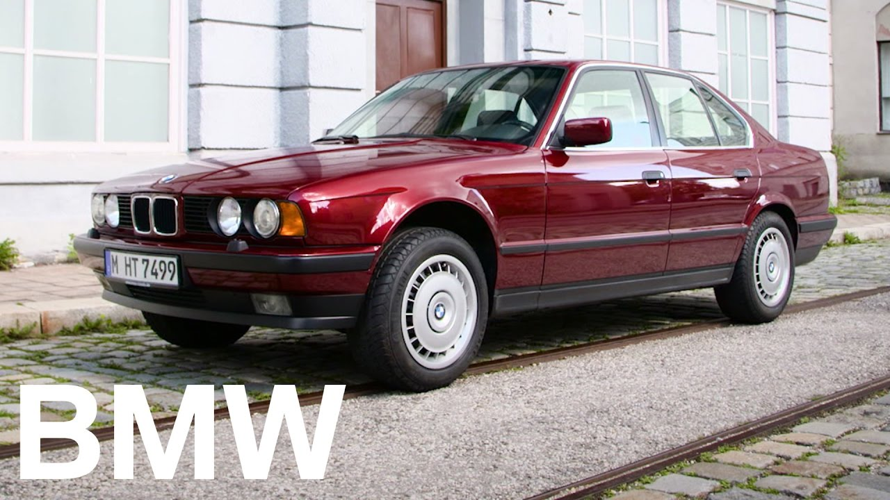 the bmw 5 series history the 3rd generation e34 youtube. Black Bedroom Furniture Sets. Home Design Ideas
