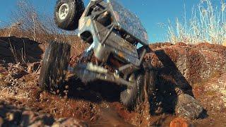 Axial Wraith Rock Crawling_#8