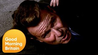 Richard Arnold Recreates the Explosion Scene From Bodyguard | Good Morning Britain