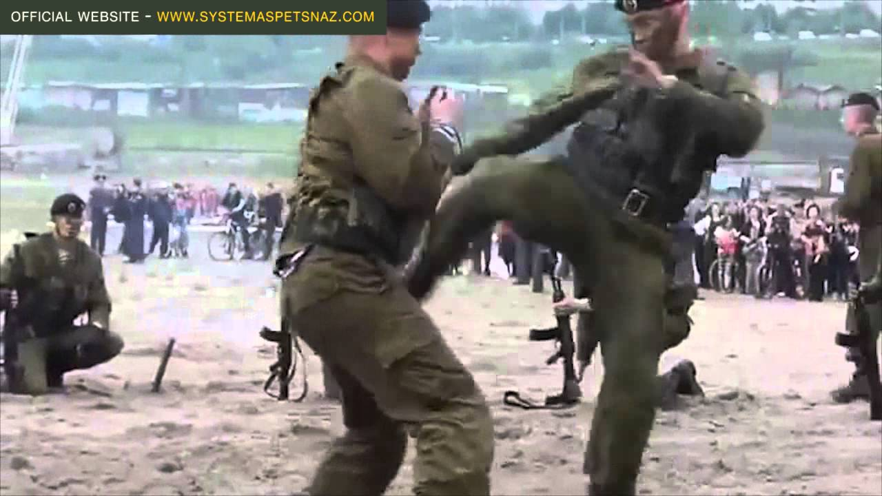 Russian Spetsnaz Hand To Hand Combat Youtube
