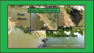 DJi GoPro Aerial and Underwater views of Sibley Cement work