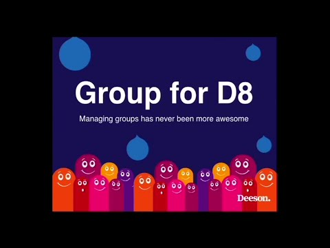Drupalcamp London 2016 - Group for D8 managing groups has never been more awesome