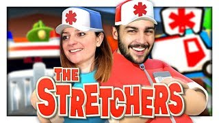 ON DEVIENT INFIRMIER ! | THE STRETCHERS NINTENDO SWITCH CO-OP