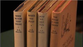 A. A. Milne, Winnie the Pooh, first editions. Peter Harrington Rare Books.