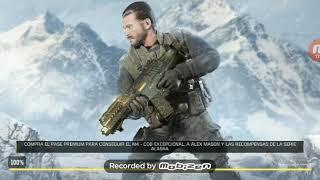 Jugando Call Of Duty en mi celular, con mi hermano