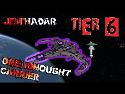 Jem'hadar Dreadnought Carrier [T6] – with all ship visuals - Star Trek Online