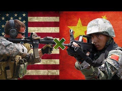 EUA x China - Comparação Militar