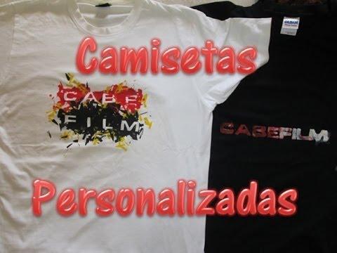 Serigrafia casera de camisetas como personalizar camisetas en casa youtube - Estampar camisetas en casa ...