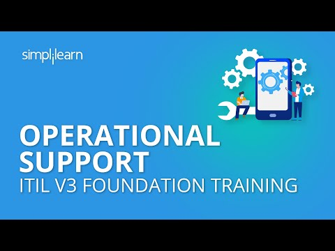 Operational Support | ITIL V3 Foundation Training