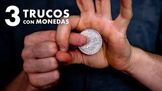 3 VISUAL and EASY TRICKS with COINS | Julio Ribera