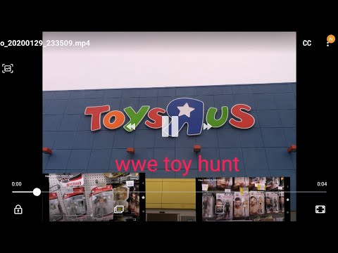 WWE MATTEL FIGURES TOY HUNT AT TOYS R US CANADA