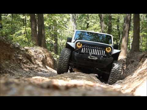 Power Wagon Point C4 to C17 Off-Road Trail - Hot Springs Offroad Park - Arkansas