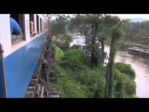 Death Railway from River Kwai Bridge to Hellfire Pass (Thailand)