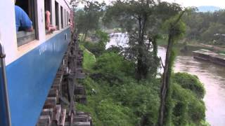 Death Railway from River Kwai Bridge to Hellfire Pass (Thailand)