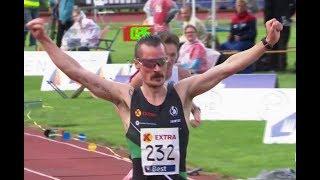 Henrik Ingebrigtsen easy won 5000m at Norwegian Championships 2018