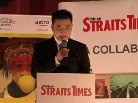 New Straits Times partners National Geographic Channel